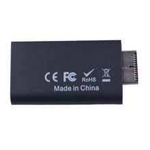 Adaptateur de convertisseur vidéo Compatible PS2 vers HDMI, câble HD avec sortie Audio 3.5mm, jeu vers HDMI, connecteur pour HDTV