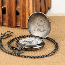 цена на Hot Anime Cartoon Fullmetal Alchemist Pocket Watches Vintage Cosplay Necklace Pendant Clock Birthday Gifts for Men Women Kids