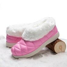 Женская туристическая обувь; Уличные зимние плюшевые ботинки;