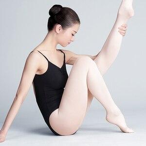 Image 5 - Meia calça collants de veludo feminina, meia legging para ginástica e dança 80d 90d 800d