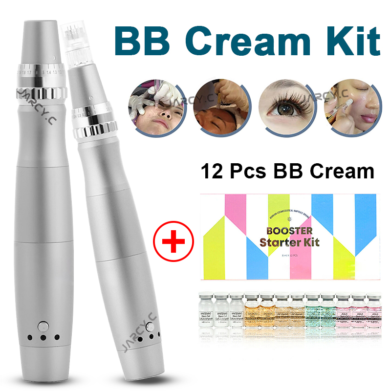 Soro de clareamento mesowhite da ampola do brilho do creme de stayve bb e da máquina do jogo para o tratamento antienvelhecimento do microneedle mts da acne