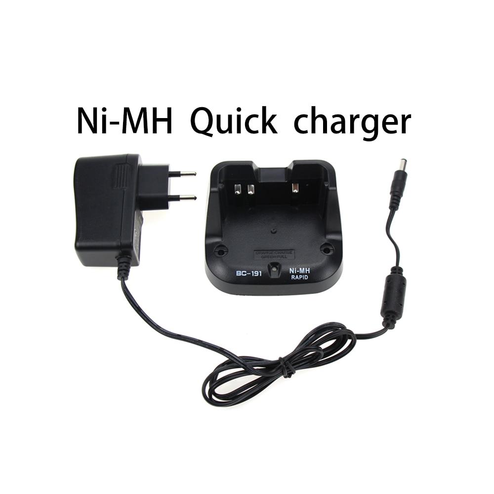 BC-191 Quick Charger For ICOM BP-264 IC-F3011 F4011 F3101D IC-V80 IC-T70 IC-F27SR F3002 F4002 F3001 F4001 F4003 Two Way Radio