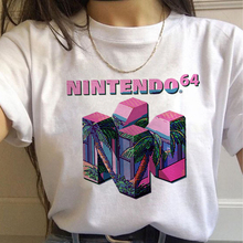 Vaporwave Aesthetic 90s Fashion T Shirts Women Harajuku Ullzang T-shirts Graphic Funny Cartoon Tshirt Streetwear Top Tees Female