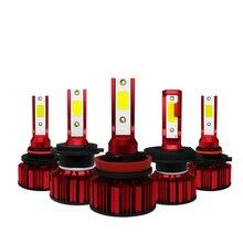 2pcs Led Headlight H7 H11 9005 9006 H4 High Power 55W 6000LM 12V 24V Waterproof for Truck Auto Headlamp Fog Light Bulbs