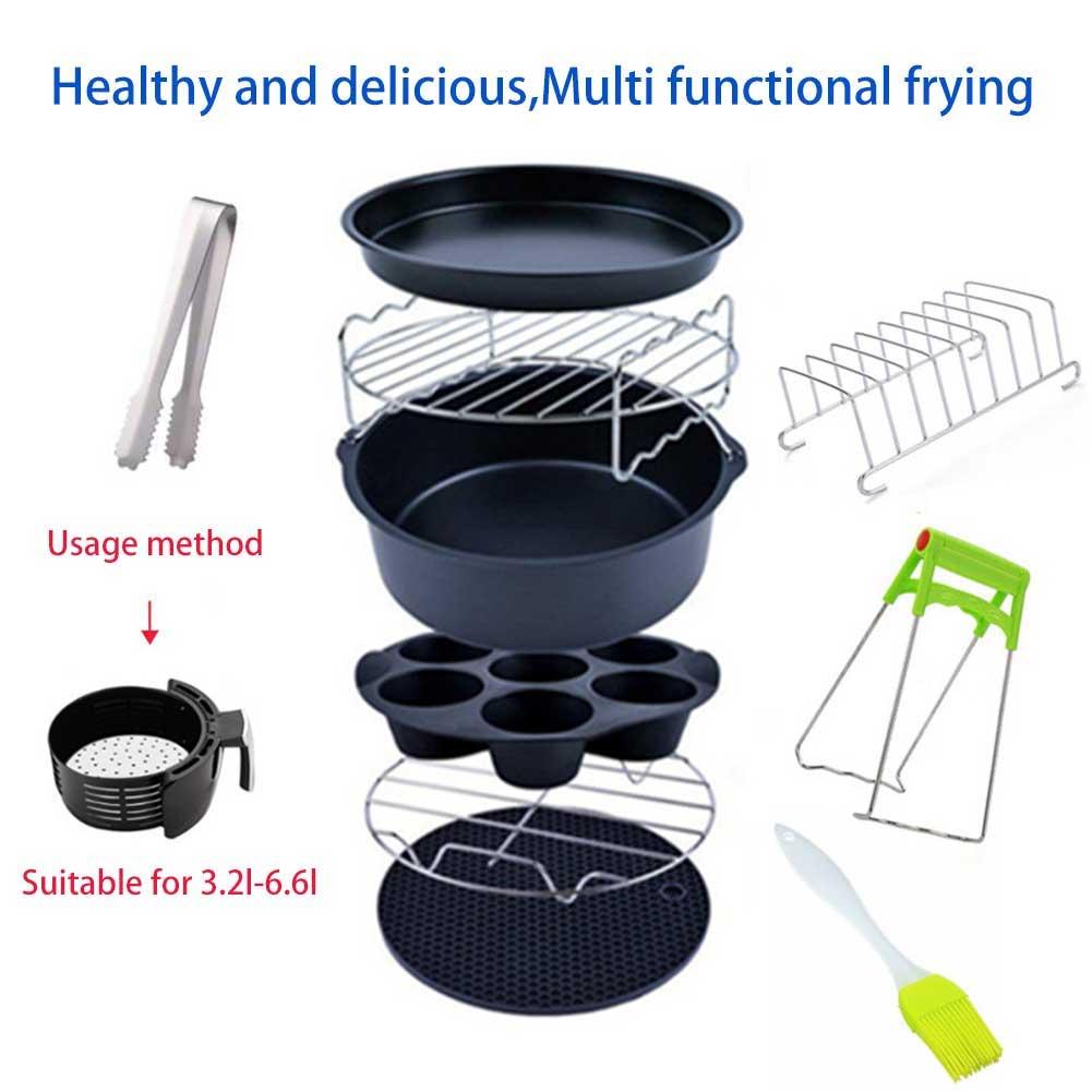 acessórios fritadeira de ar cesta de cozimento