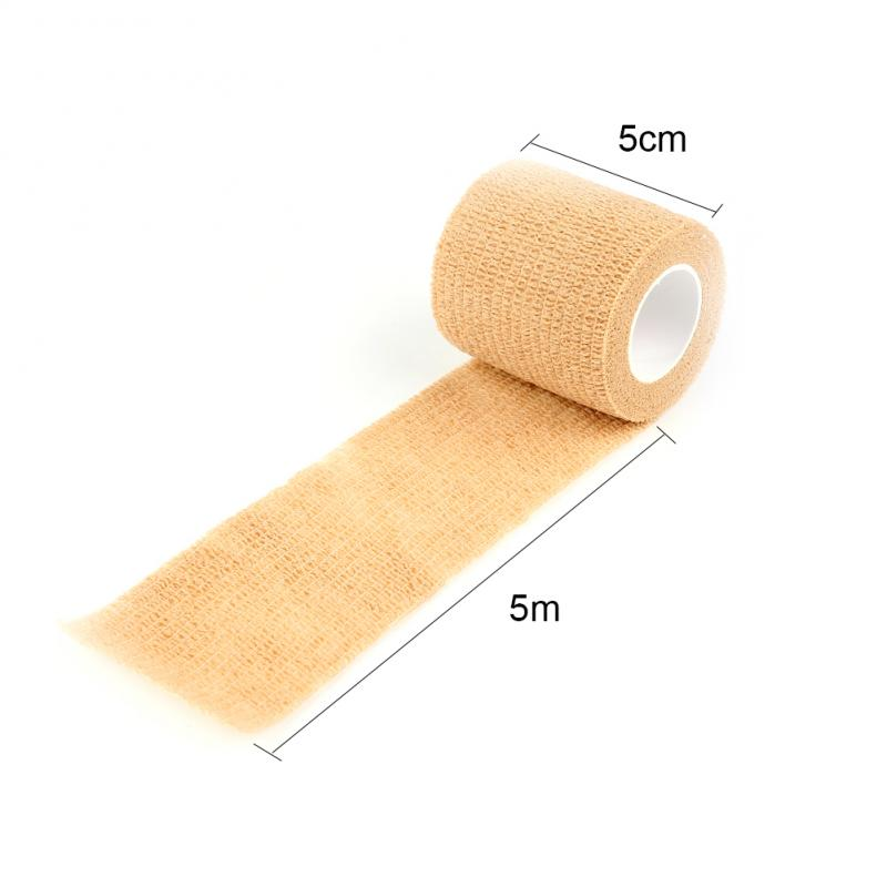 4.5m Sports Elastoplast Self-Adhesive Cohesive Wrap Bandage Flexible Stretch Tape Athletic Strong Elastic First Aid Tape