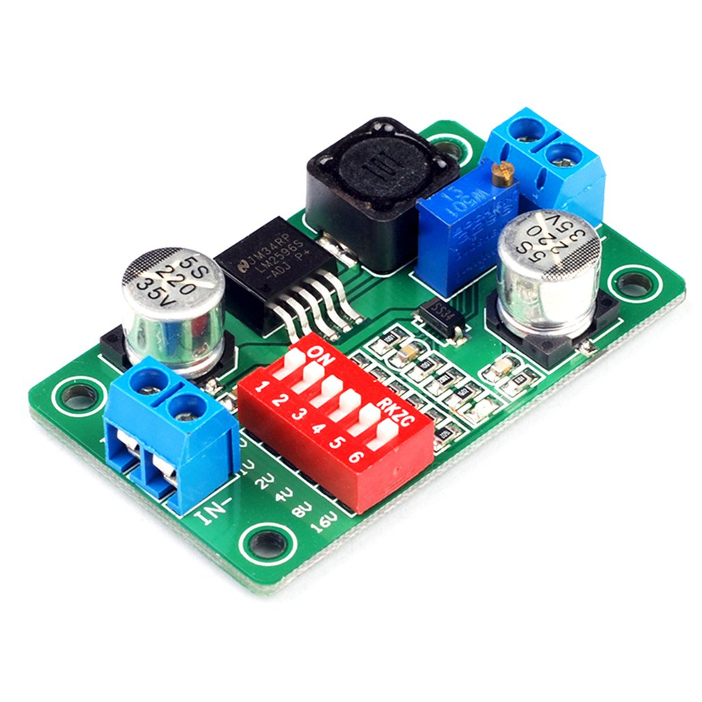 Quick Set Voltage LM2596S-ADJ Module DC-DC Module Buck Regulator Power Supply Module