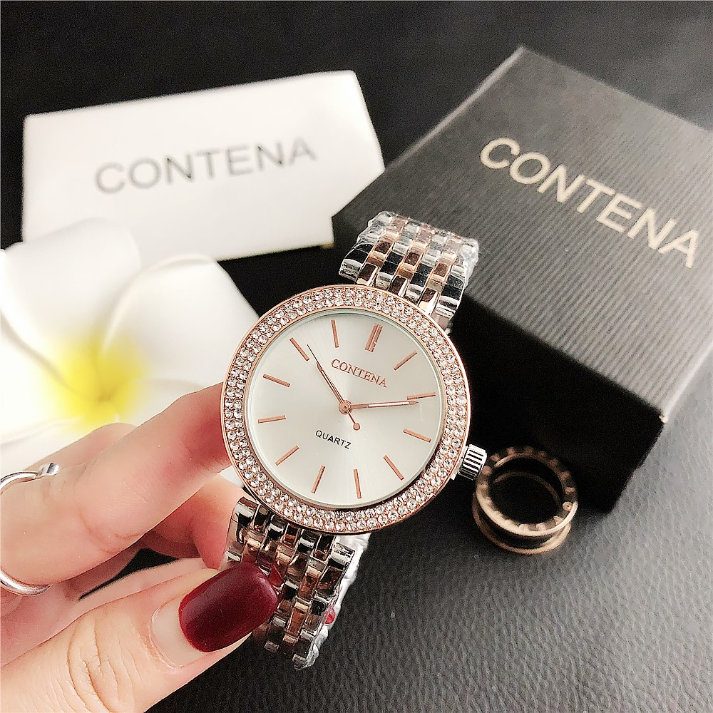 CONTENA New Fashionable Men's And Women's Quartz Watches