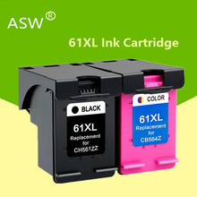 Cartucho de tinta para hp 61 xl, compatível com hp 61 xl para envy 5530 deskjet 2540 1050 2050 2510 3050 3054 impressora 3000 1000