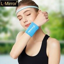 L Зеркало 1 шт отражающее дышащее сжатие Спортивная поддержка