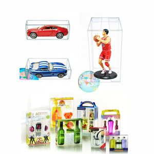PVC Clear MATCHBOX TOMY Toy Car Model 1/64 TOMICA Hot Wheels Dust Proof Display Protection Box 82*40*30mm(China)