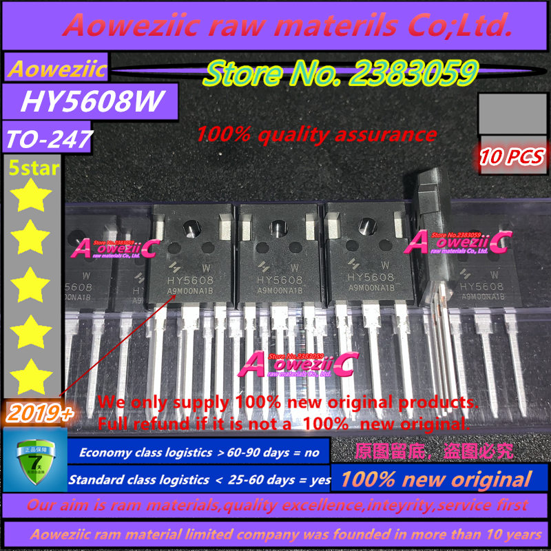 Aoweziic  2019+ 100% New Imported Original  HY5608W HY5608 TO-247 FET 80V 360A