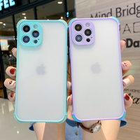 Funda de teléfono para Huawei Nova 5T Honor X10 Max 30 20 9A 30S P30 Lite P Smart Pro Plus 2019 Y9S, cubierta transparente de cuatro esquinas