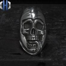 Original Works Dark Girl Handmade Silver 925 Ring