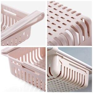 Image 5 - Küche lagerung rack organizer küche organizer rack küche zubehör veranstalter regal kühlschrank lagerung regal box