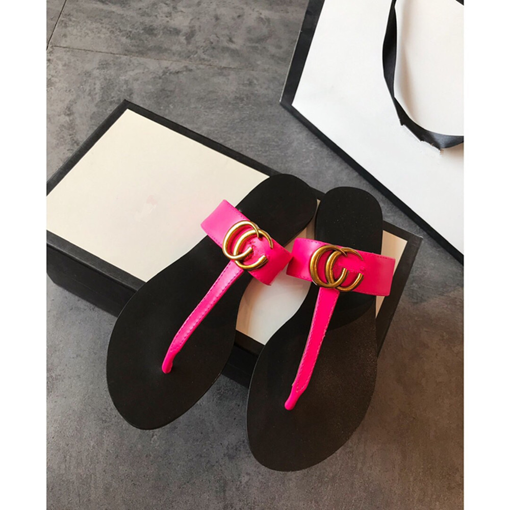 Summer classic clip feet slippers fashion comfortable sandals flat sandals ladies sandals slippers|Slippers| - AliExpress