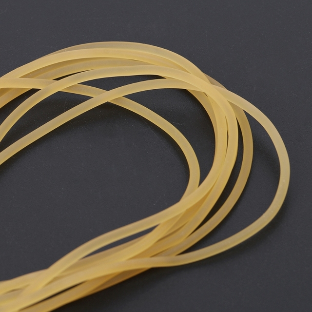 10m Solid Latex Tube Diameter 2mm Outdoor Hunting Slingshot Athletic Rubber Band 5