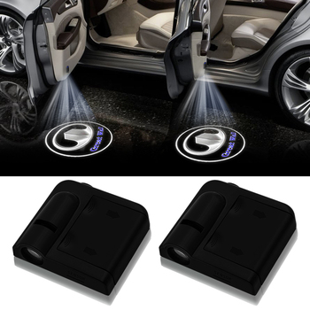 wireless Led car door welcome Laser projector Logo ghost shadow lights For Great Wall Hover H5 H6 CUV H3 A21 M2 C50