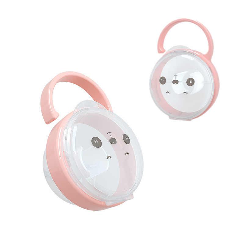 1PC Portable Bayi Dot Puting Cradle Case Pemegang Kartun Anak-anak Perjalanan Penyimpanan Kotak Penenang Wadah Dudukan Dot Dummy Kotak