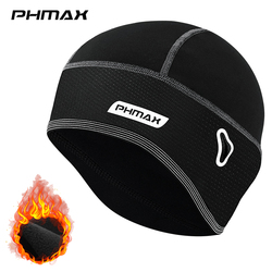 PHMAX Winter Cycling Cap Windproof Keep Warm Ski Cap Running Skiing Riding Thermal Fleece Hat Bike Bicycle Cap Cycling Headwear