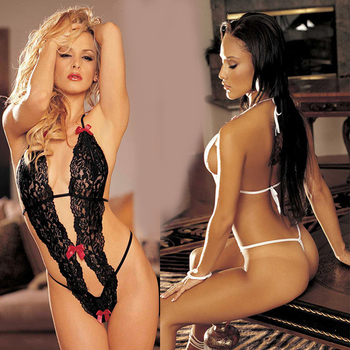 New Sexy Costumes G-string Sexy Lingerie Lace Siamese Perspective Three-Point Underwear Erotic Lingerie Adult Products Accessories INTIMATES