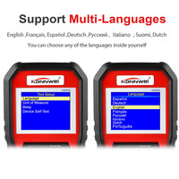 Universal Auto Diagnostic Car Scanner Tool OBD2 Function with O2 Sensor Test C44