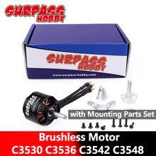 SURPASS – moteur sans balais C3530 C3536 C3542 C3548 14 pôles avec accessoires pour avions, Multicopter, avion, hélicoptère RC