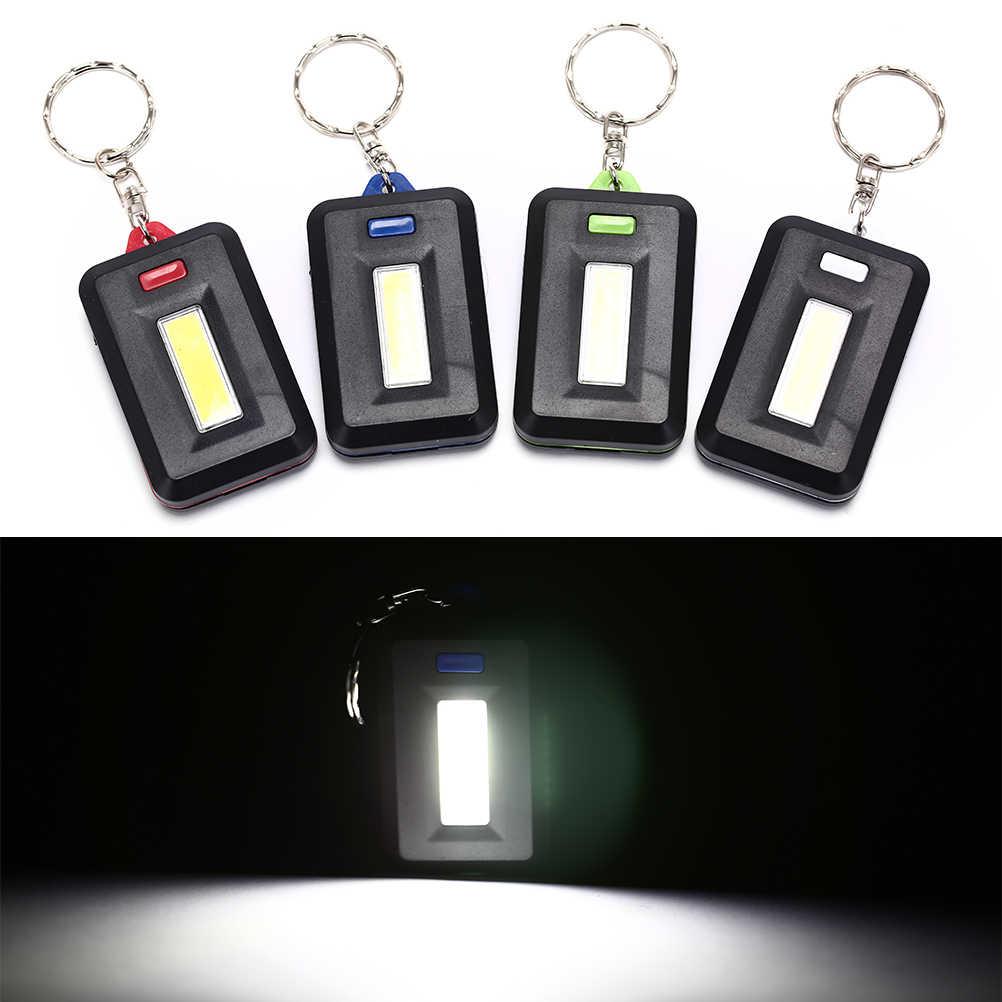 3 piece MINI FLASHLIGHT TORCH SET camping light caravan keyring set