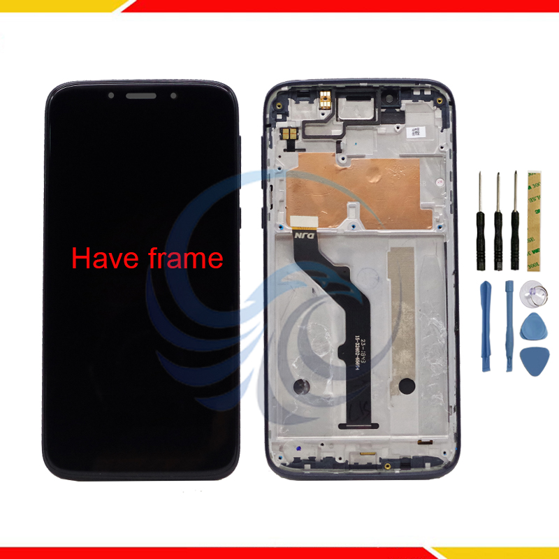 For Motorola Moto G7 Play LCD Display With Touch Screen Sensor Panel Digiziter Assembly
