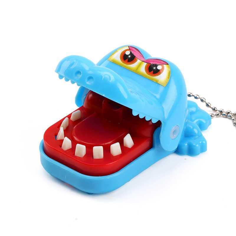 抗ストレス咬傷フィンガーゲームサメカバワニ犬動物ジョークおかしいノベルティおもちゃ子供の家族のためいたずら誕生日プレゼント