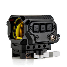 Optical R1X Red Dot Sight Scope Reflex Sight Holographic Sight With IR Function Quick Release Mounts for 20mm Rail Hunting Scope rowsfire 1x 30 small metal horn red dot telescopic sight for 20mm rail diy science mechanical aim point with high quality black