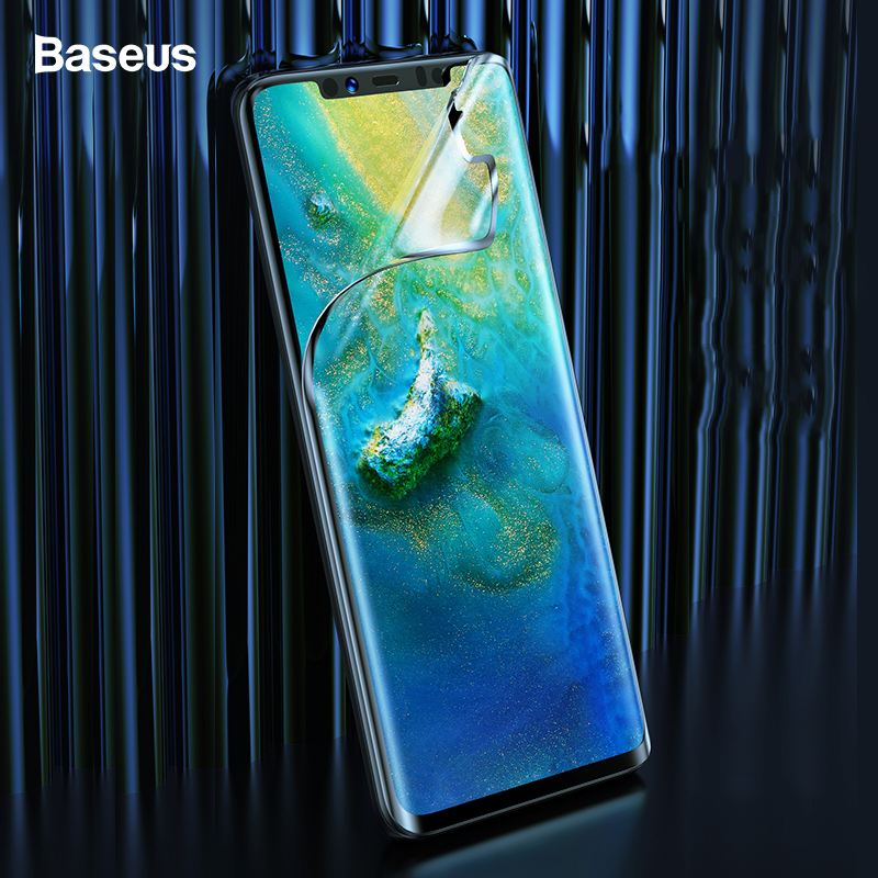 Baseus 2pc Screen Protector For Huawei Mate 30 Pro Tempered Glass 0.15mm Front Cover Protective Glass Film For Huawei Mate 30Pro