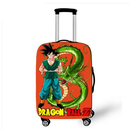 18-32 Inch Dragon Ball Z DBZ Suitcase Cover Travel Luggage Suitcase Protector For Boys Girls Trolley Durable Protective Cover