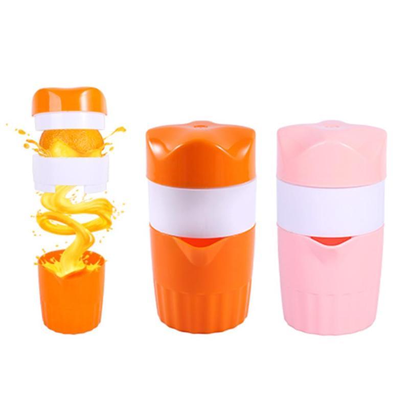 Baby Feeding Portable 300ml Manual Lemon Juicer Orange Citrus Squeezer Fruit Coffee CupLarge CapacityTeacup For Baby Care
