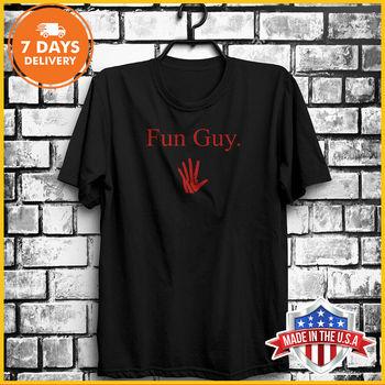 Fun Guy Kawhi Leonard T-Shirt Unisex Cotton T Shirt Black& White Tee S-6XL