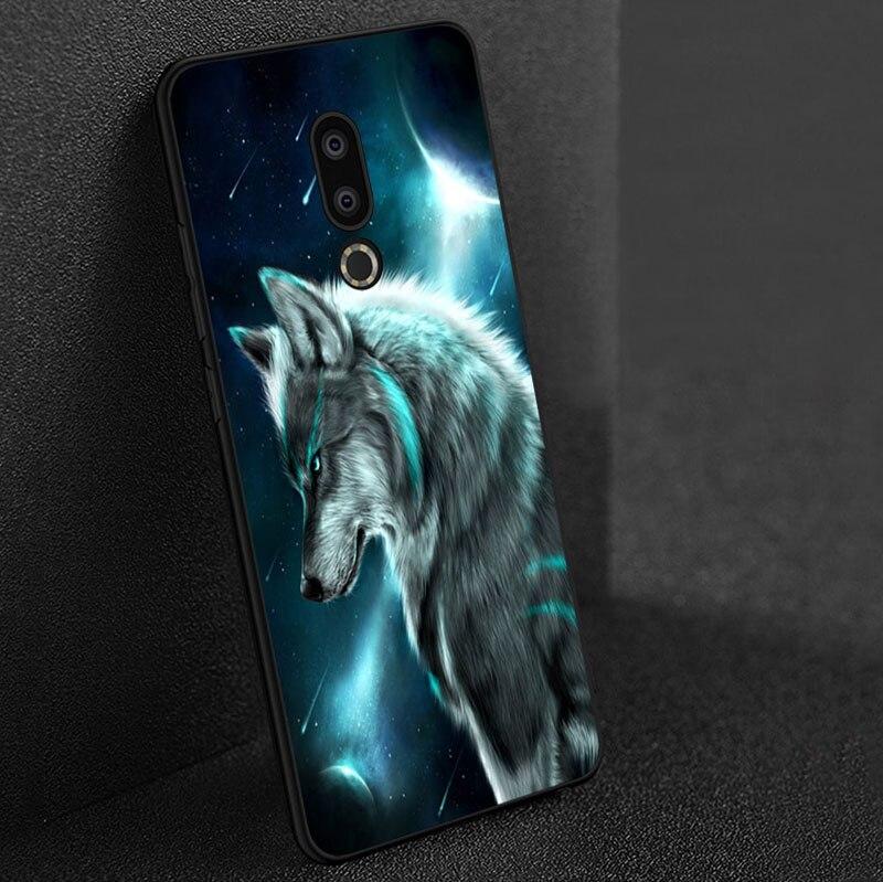 Case For Meizu 16th 16 16x 16s 16xs M6 M5 M3 M3s Mini Note 9 8 Mx 6 Pro 6 M5c M8 M15 15 Lite Black Soft Silicone Cover Case