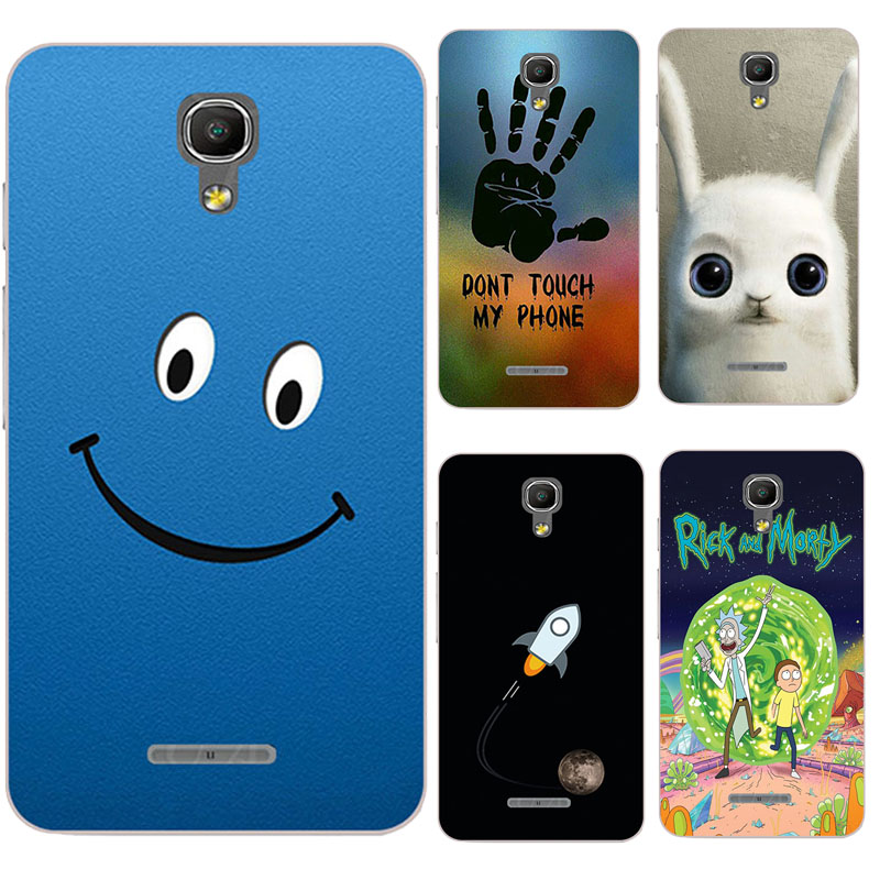 Original Colorful Mobile Phone Cases for Alcatel One Touch Pixi 4 5.0 3G Version OT 5010 5010D 5010 D Full Back Covers Capa Case image