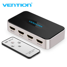 Vention HDMI Splitter Switch 3 Input 1 Output 4K x 2K HDMI Switcher Splitter for XBOX 360 PS4 Smart Android Laptop HDMI Adapter(China)