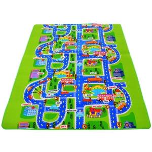 Image 1 - Детский коврик из вспененного этилвинилацетата, толщина 0,5 см, для лазания, зеленого цвета, игровой ковер для детей