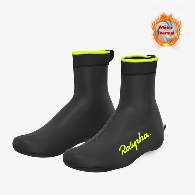 Raphaing 2020 Winter Thermal Cycling Shoe Cover Sport Man's MTB Bike Shoes Covers Bicycle Overshoes Cubre Ciclismo Men Triathlon