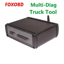 WAS Multi-Diag Bluetooth V2011C Diesel Heavy Duty Truck Diagnostic Tool Free Re-Activation WAS Multi-Diag Truck Scanner(China)