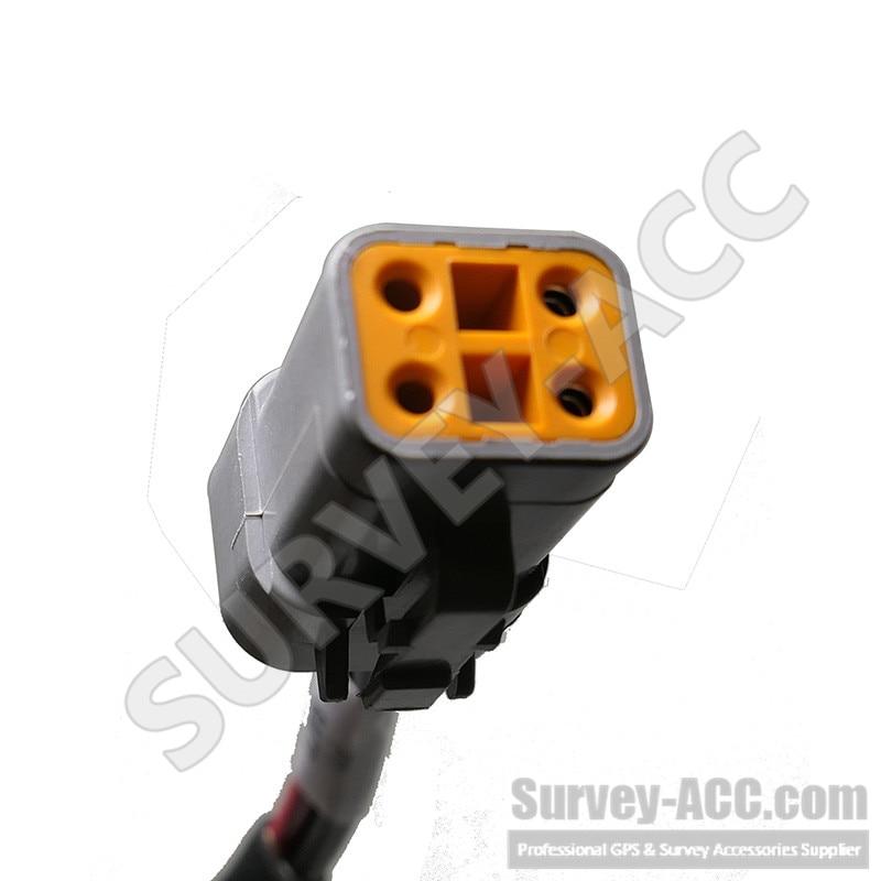 Trimble Gps inferior Arnés de Cable de alimentación 67258 CFX750 FMX FM750 FM1000 ZTN67258