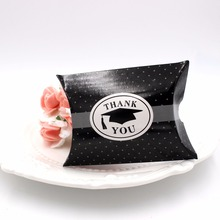 Creative Graduation ceremony box graduation gift black candy 50pcs
