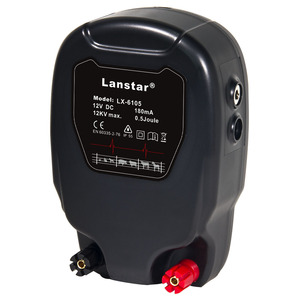 Image 1 - Lanstar 12KV 0.8J Stored Energy Farm Electric Fence Energizer Charger Controller shepherd