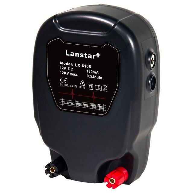 Lanstar alternateur pour clôture électrique de ferme, 12KV 0,8j, contrôleur dénergie stockée, chargeur berger