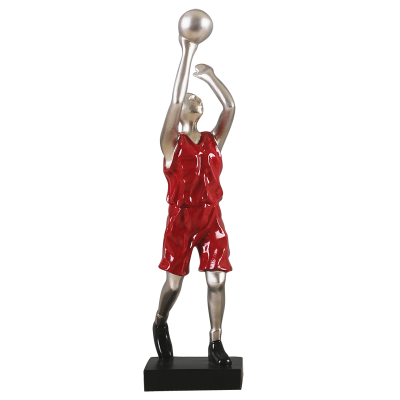 Abstraction Character Art Sculpture Basketball Sports Statues Resin Art&Craft Home Decoration Accessories For Living Room R2504|Statues & Sculptures| |  - title=