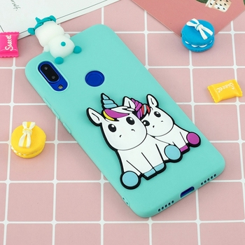 Cartoon Unicorn Cover For Xiaomi Redmi Note 10 9 Pro Max 9S 10S 8 T 8T 8 8A 9 9A 9C Toys Silicone Case Redmi Note 10 Pro Cover Accessories Phone Covers