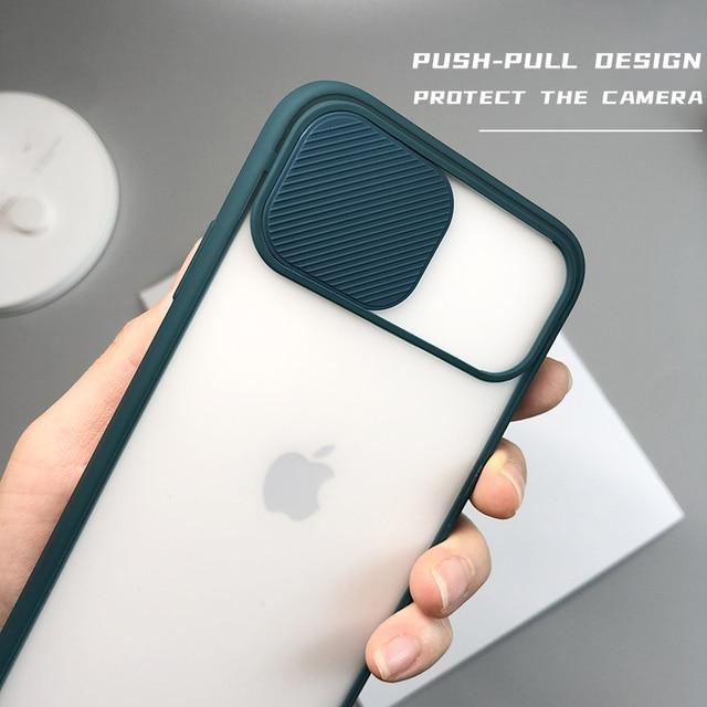 Camera Lens Matte transparent Protection Case For iPhone 12 MiNi 12 Pro Max 11 Pro 8 7 6 6s Plus Xr Xs Max X SE 2020 Soft Cover 5