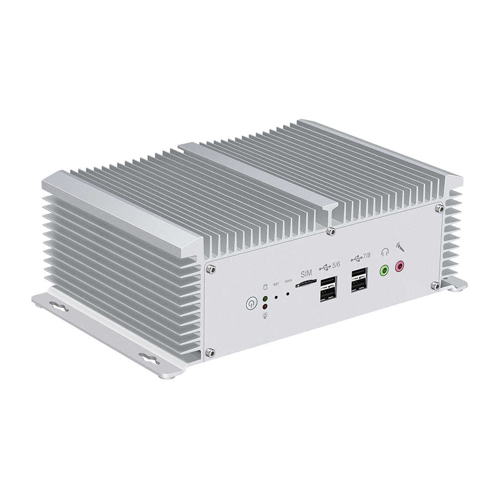 Mini PC Inte Core i5 8350U i7 7500U i5 7200U 2 * RS232/422/485 8 * USB 2 * LAN HDMI VGA GPIO 2 * DDR4 SIM 4G LTE WiFi Windows 10