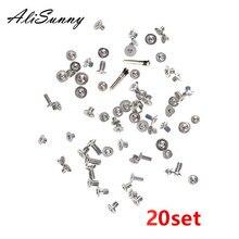 AliSunny 20 juego de tornillos completos para iPhone XR XS XSmax XSM tornillos completos Kits interiores piezas de repuesto